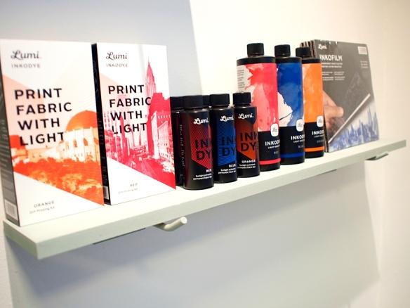 Productos Lumi ya disponibles en la nueva tienda / estudio de Pasquale Caprile.